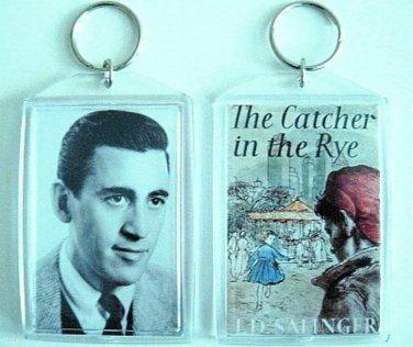 Catcher in the Rye J.D. Salinger Holden Caulfield key chain keychain Rare Cover