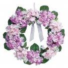 Hydrangea Wreath - 23 Inch