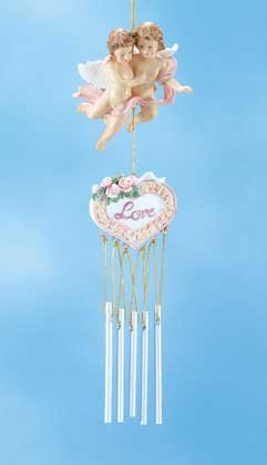 Alab. Cupids Love Windchime