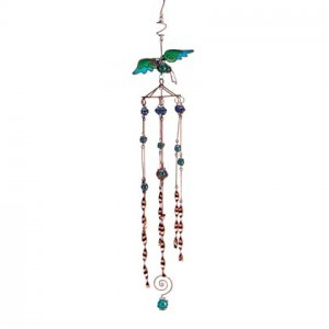 Copper Plated Hbird Windchimes