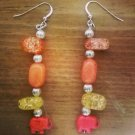Crystal Elephant earrings