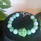 Amazonite Buddha Bracelet