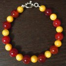 Men's Agate and Quartzite Bracelet