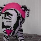 Zebra Sock Dog