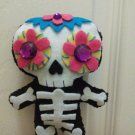 Day of the Dead Plush Skeleton