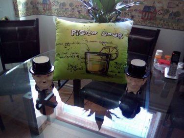 Pisco Sour Cocktail Recipe Pillow Case