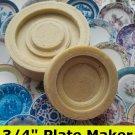 "Dollhouse Plate Maker 3/4"" 1/12th Scale Custom China Plate Maker"