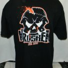 new without tags krusher pain is comming xl t shirt tna wwe roh wrestling