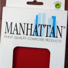 ERGONOMIC KEYBOARD PAD, Manhattan Finest Quality RED  NEW
