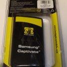 Brand New~Black~Body Glove Silicon Gel Case/Cover for Samsung Captivate