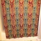 "English Collection Kensington Shower Curtain 72"" X 72"" /W Ascot Valance"