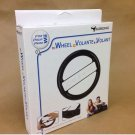 Subsonic BLACK Wheel Controller for Wii Wireless Game Remote Holder BRAND NEW