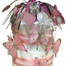 Custom Designed Baby Shower Diaper Cake- NEW