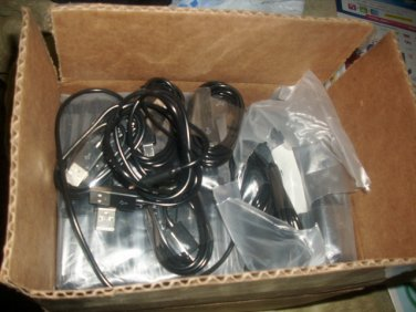 Lot of 20 USB Data cables/chargers