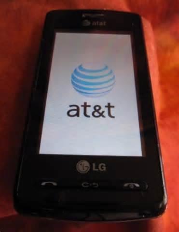 At&t Vu CU292 touchscreen phone