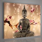 Framed & Stretched!!Modern Home Decor Buddha Oil Painting on Canvas