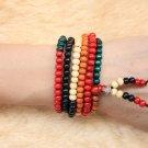 Tibetan Jewelery Red Sandalwood Wood Prayer Beads Buddha Bracelet Men / Women Gift
