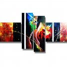 Framed!! !!High Quality Modern Abstract Oil Painting on Canvas Art home decoration on wall
