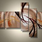 Framed!! Handmade 5 Pieces Modern Decorative Oil Painting On Canvas Wall Art Picture for Living Room