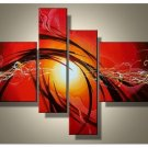 Framed!! Museum Quality Wall Art Modern Abstract Oil Painting on Canvas for Decor(Small Size)