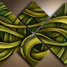 Streched!!canvas art picture High-quality modern wall art Abstract Oil Painting with wood framed