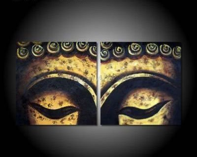 No Framed !!Wall Decoration Buddhism Buddha Eye Painting on Canvas