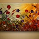 palette knife oil painting on canvas wall art reproduction picture for living room No Frame