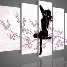 No Frame! Handmade Nude Female Body Paintings Modern Sexy Naked Woman Art Work Wall Deco