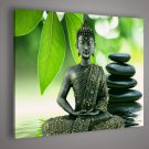 HD Prints On Canvas religion buddha Green Leaf home decoration No Framed
