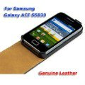 Samsung Galaxy Ace S5830 Genuine Leather Case Cover