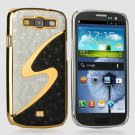 Samsung Galaxy S3 i9300 Metal Bling Case Cover Skin