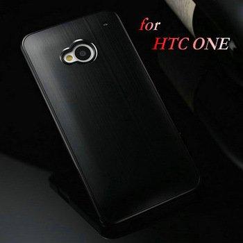 HTC ONE 1 M7 Premium Brushed Aluminum Hard Phone Case Cover