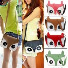 Women Ladies Girls Foxy Cute Purse Handbag Shoulder Bag