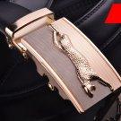Genuine Leather Designer Dress Belts Custom DIY Resize Jaguar Dragon Buckles 20 Designs