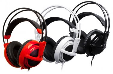STEELSERIES SIBERIA V2 GAMING HEADSET HEADPHONES Earphones