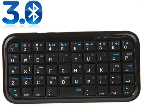 Mini Bluetooth Keyboard PS3 iPhone 4 Android OS PCPDA