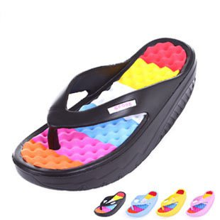 Girls High Platform Sandals Slimming Swing Wedge Ladies Shoes
