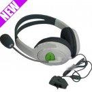 For Xbox 360 Live Headset with Mic Headphone Earphones