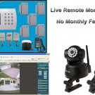 Remote Monitoring Home Business Wireless Security System Burglar Alarm Auto Dial