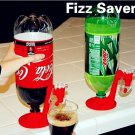 Soda Soft Drink Beverage Dispenser Coke POP FIZZ SAVER Pepsi