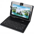 7 inch Android Tablet PC Keyboard Leather Case Cover