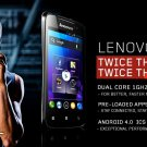 Unlocked Lenovo A390 Dual Core Smartphone Android 4.0