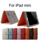Premium Grade iPad Mini Case Cover Stand Wrist Strap Wake Up Function