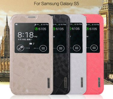 Galaxy S5 i9600 Designer Flip Case Cover Skin Protector Stand