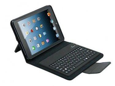 "Premium iPad Mini 7.9"" Bluetooth Keyboard Leather Case Cover Folio"
