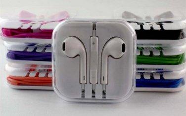 iPhone 4 5 Earphones Headphones Headset with Mic