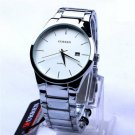Men's Tungsten Carbide Analog Quartz Watch Wristwatch