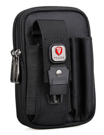 Tactical Canvas Waist Bag Fanny Pack Pouch Loop Belt Clip