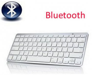 2.4Ghz Wireless Bluetooth Keyboard Slim for Mac Macbook iPhone iPad Samsung Galaxy Tablet PC