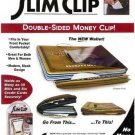 Stainless Steel DOUBLE SIDED SLIM MONEY WALLET CLIP